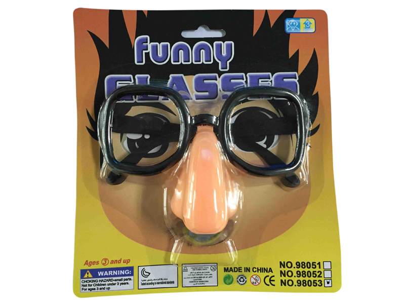 Mask glasses funny mask toy glasses for kids