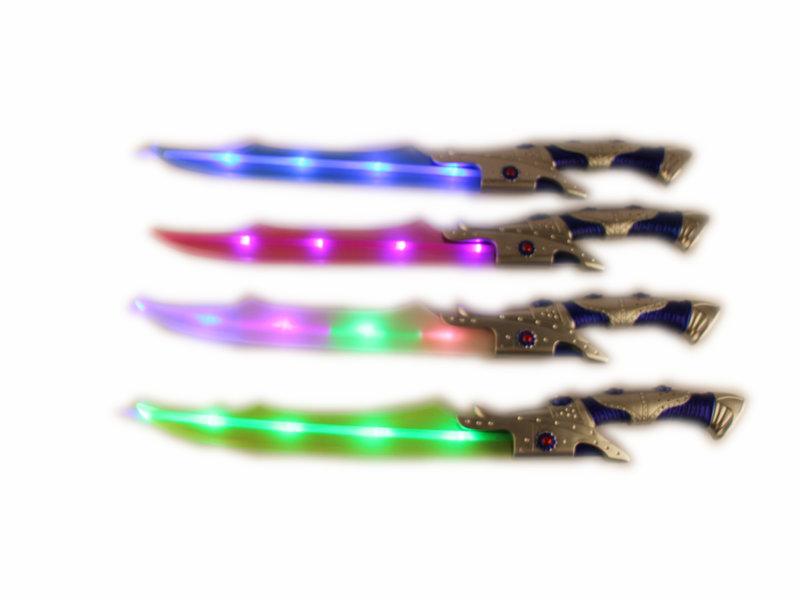 Lighting sword flashing blade toy festival toy
