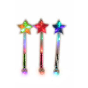 Cute star stick flashing toy party toy