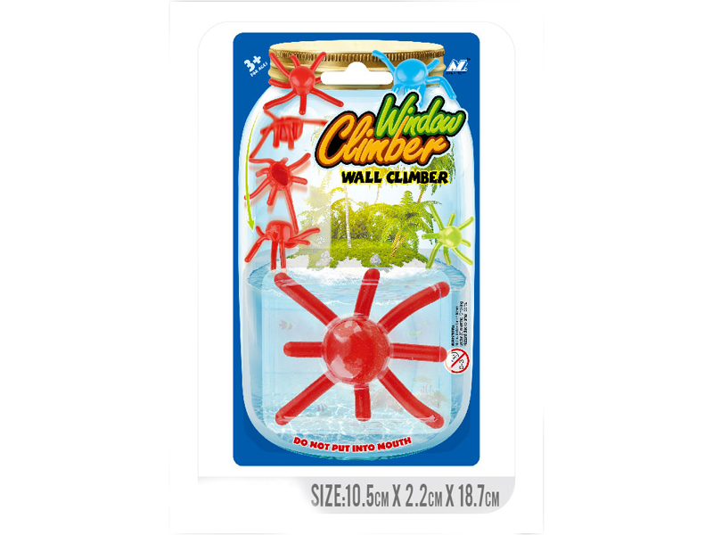Wall climber wall walker animal toy