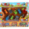Pull back truck toy vehicle engineering car