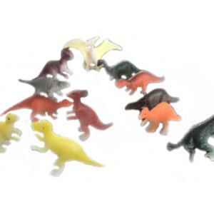 Small dinosaur animal toy cute set toy