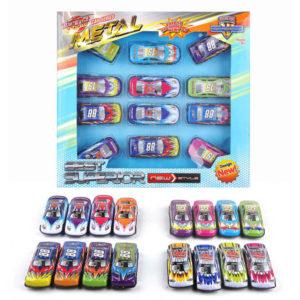 metal car vehicle set toy freewheel cars