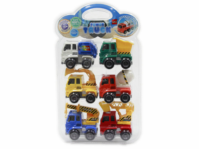 Friction power car engineering truck vehicle toy