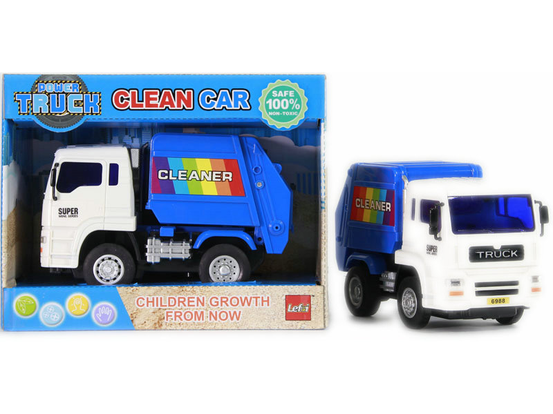 Garbage truck friction power car vehicle toy