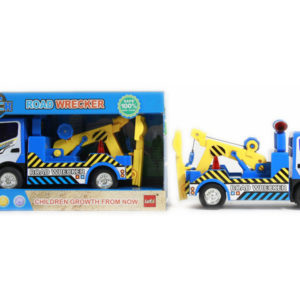 Friction power vehicle road wreaker car toy