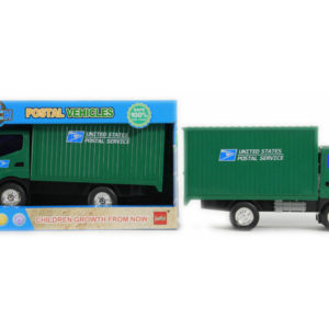 Postal car toy friction power vehicle car toy