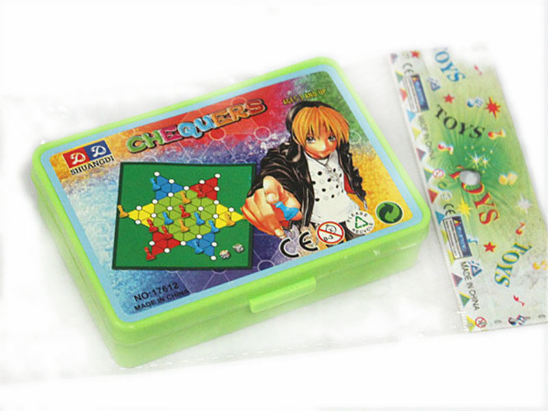 Chinese checkers board game promotion toy