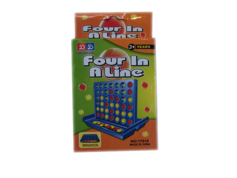 4 in a row game board game promotion toy