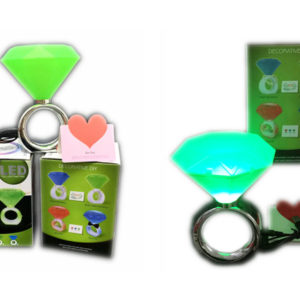 Diamond ring flashing toy funny toy