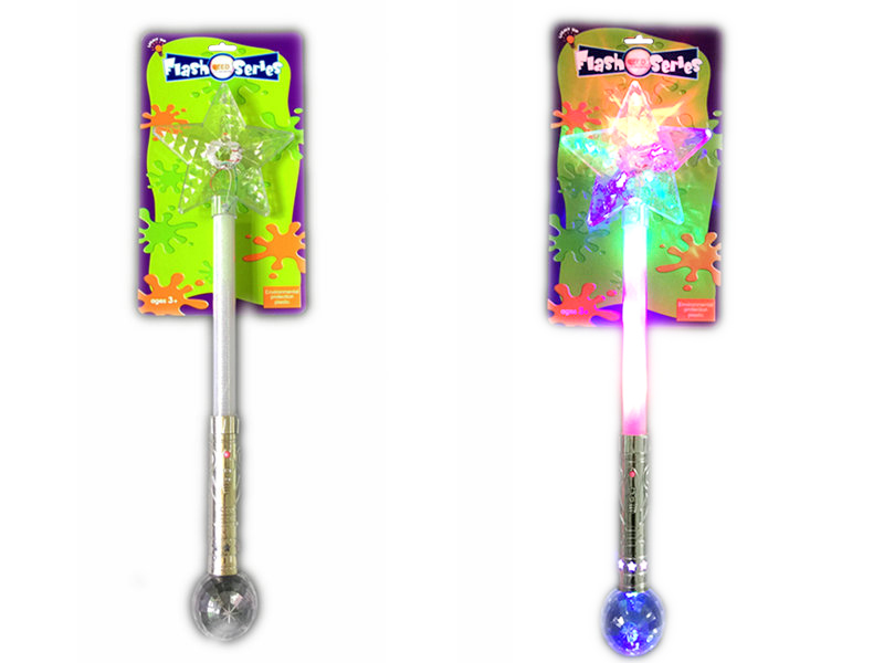 Long star stick flashing toy festival toys
