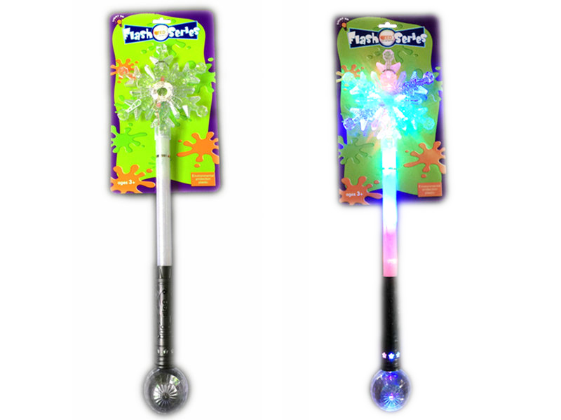 Flash snow stick beautiful toy light up toys