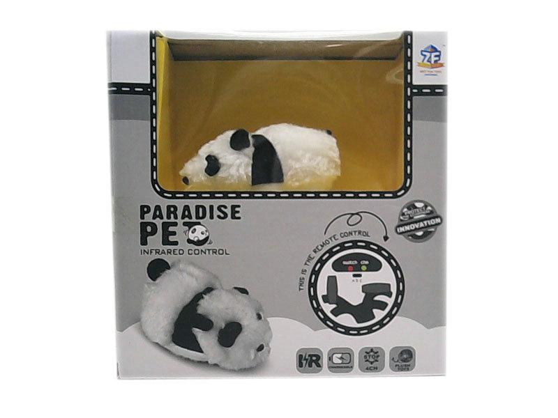 Plush panda remove control toy animal toy