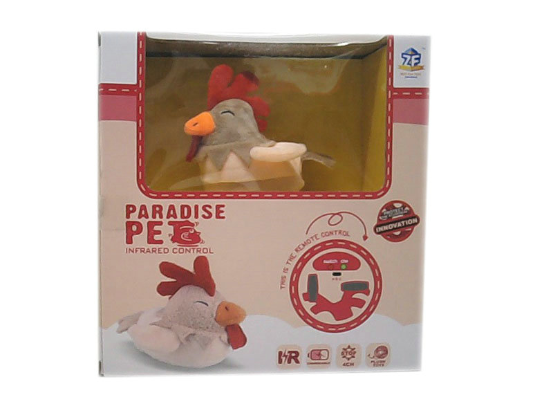 Plush rooster cute toy animal toy