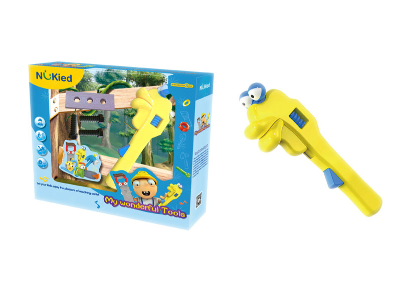 Spanner toy battery option toy tool toy
