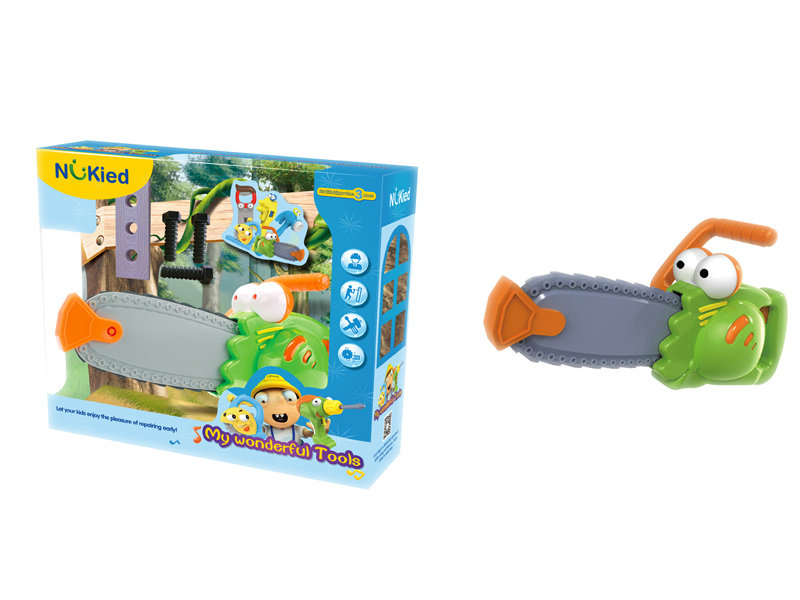 Electric saw battery option toy cartoon toy