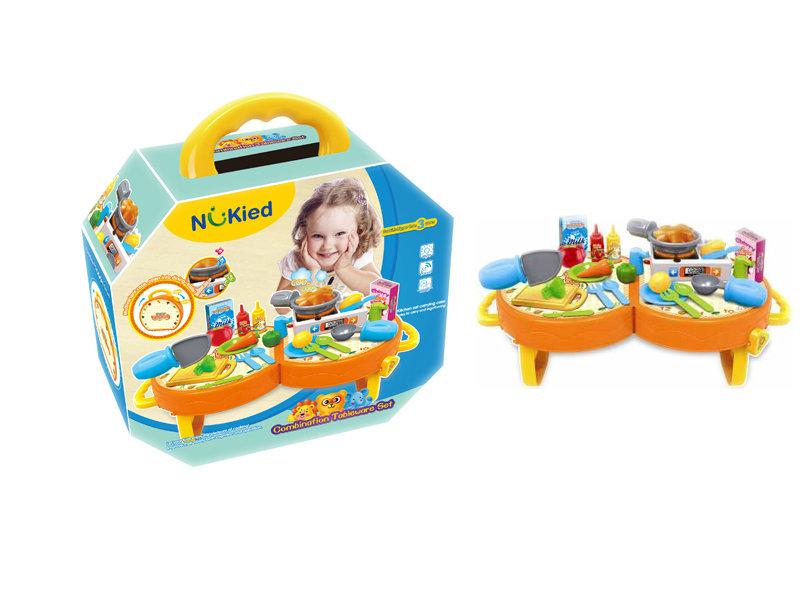 Kitchen set cute toy plastic toy