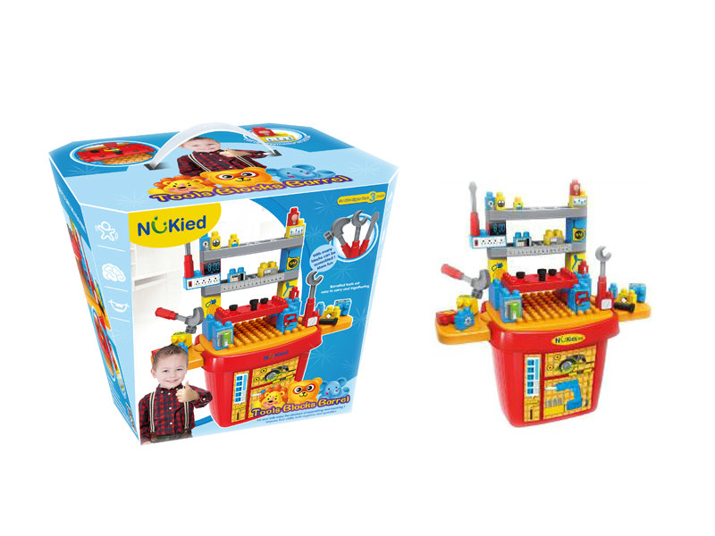 Tool box plastic toy pretending play toy
