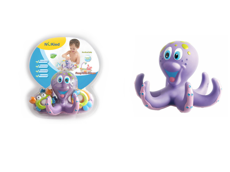 Octopus toy bathing toy baby toy