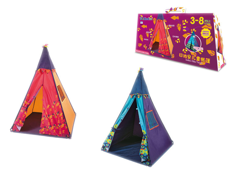 Colorful tent outdoor toy funny toy