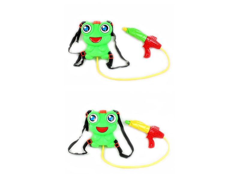 Water gun summer toy cartoon toy with knapsack