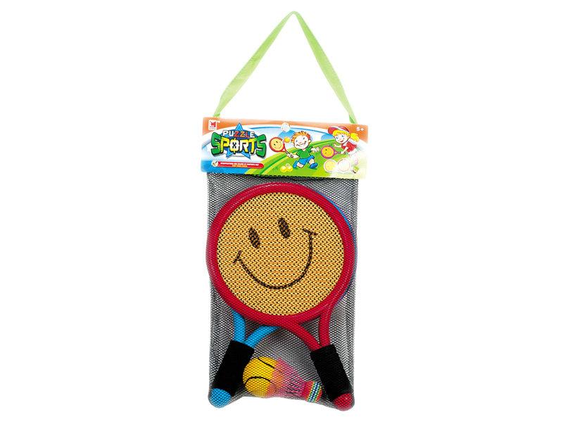 Cartoon racket tennis toy mini set toy