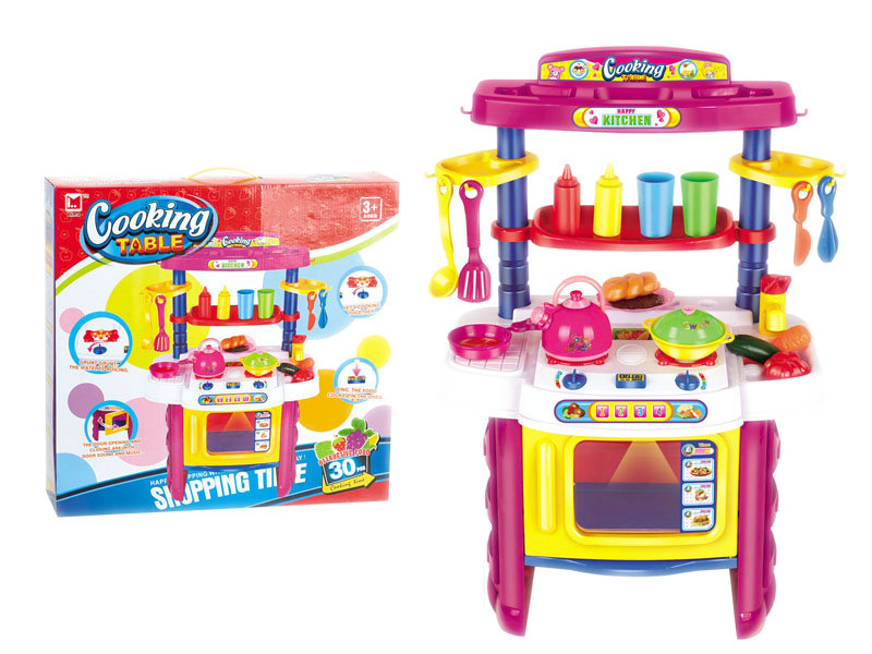 Pretending play toy cooking toy funny toy