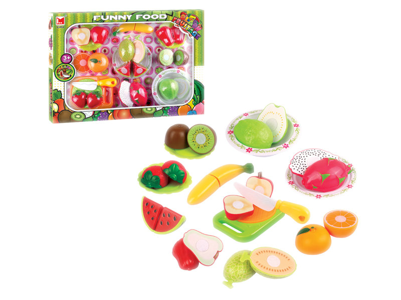 Fruit toys cutting toy funny toy