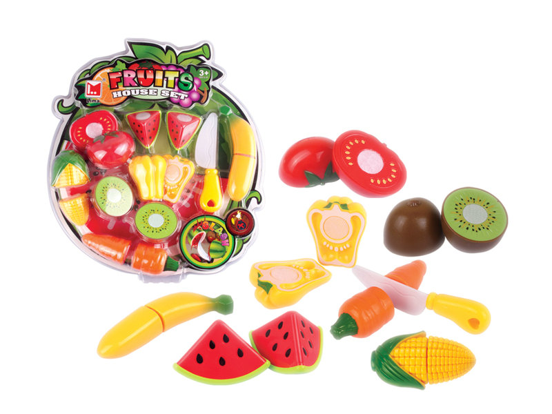 Food set cutting toy pretending play toy
