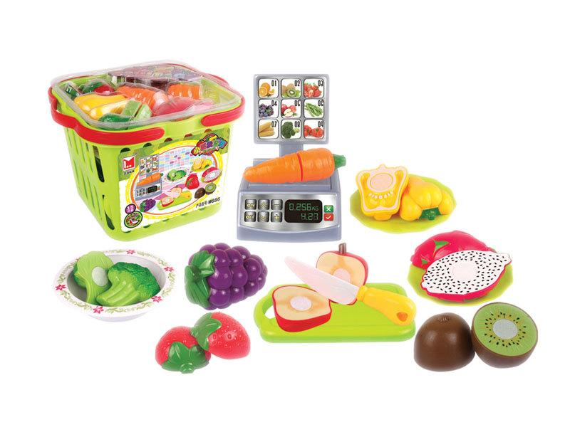 Food set toy fruit toy vegetable toy