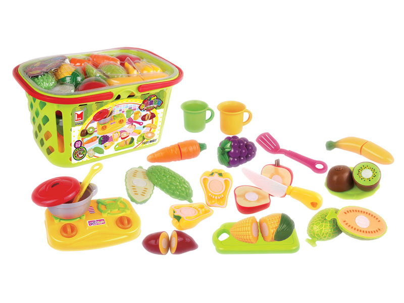 Food cutting toy vegetable toy fruit toy