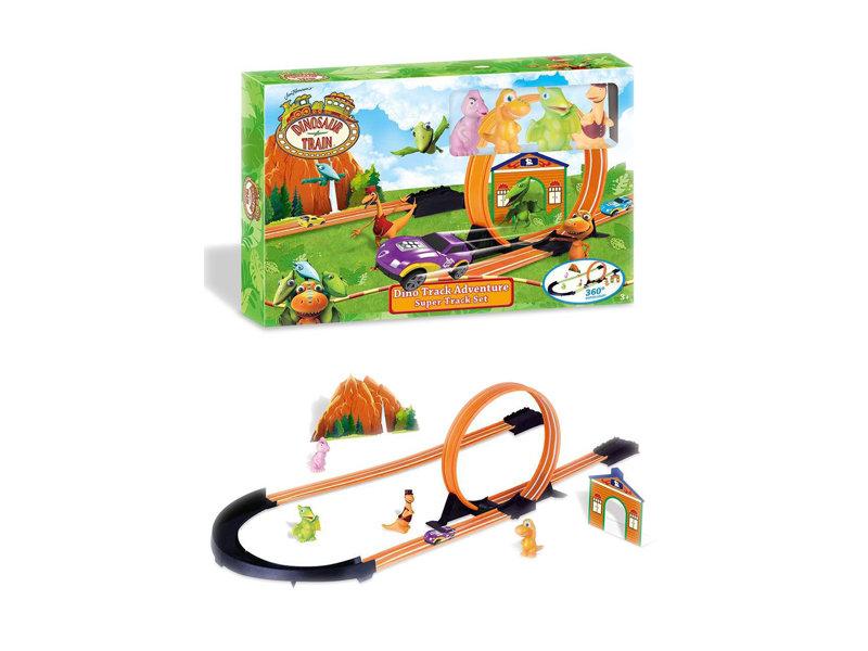 Dinosaur train railway car vehicle toy