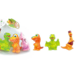 Vinyl dinosaur animal toy cute toys with BB whistle