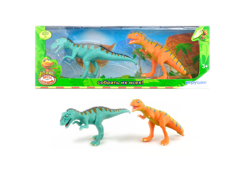 Cute dinosaur animal toy hard body toy