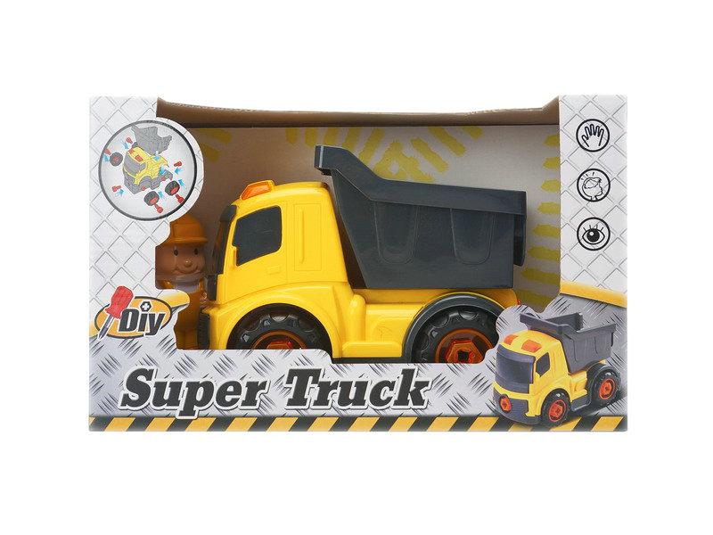 DIY truck plastic truck engineering truck toy