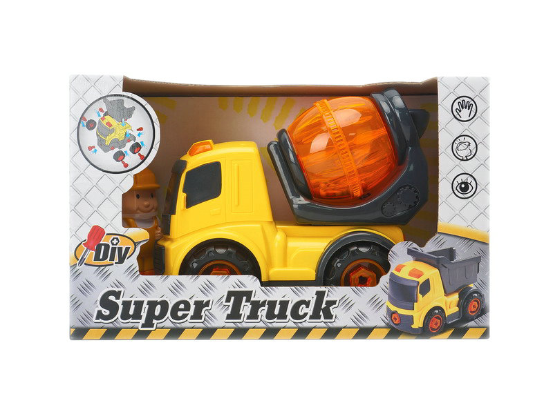 DIY truck plastic truck engineering truck toy