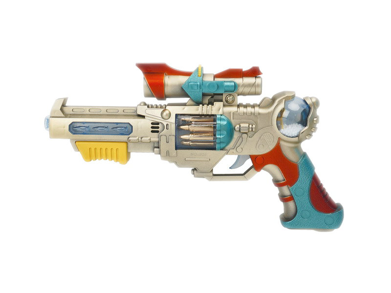 B/O gun toy plastic gun toy gun with flash and sound