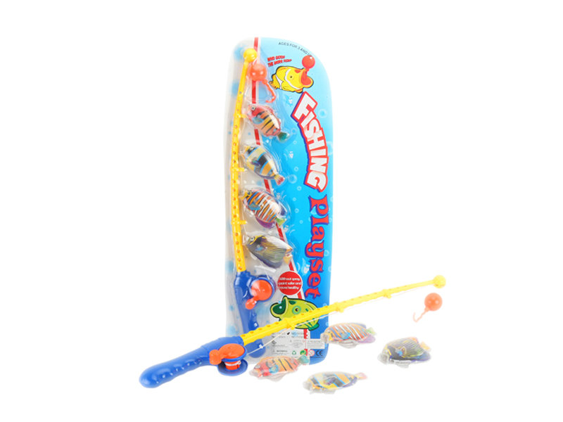Fish toy set funny toy fishing toys with fish