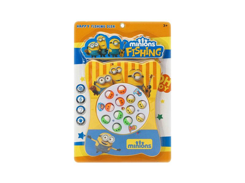 Fishing toys mini game toy minions fishing game