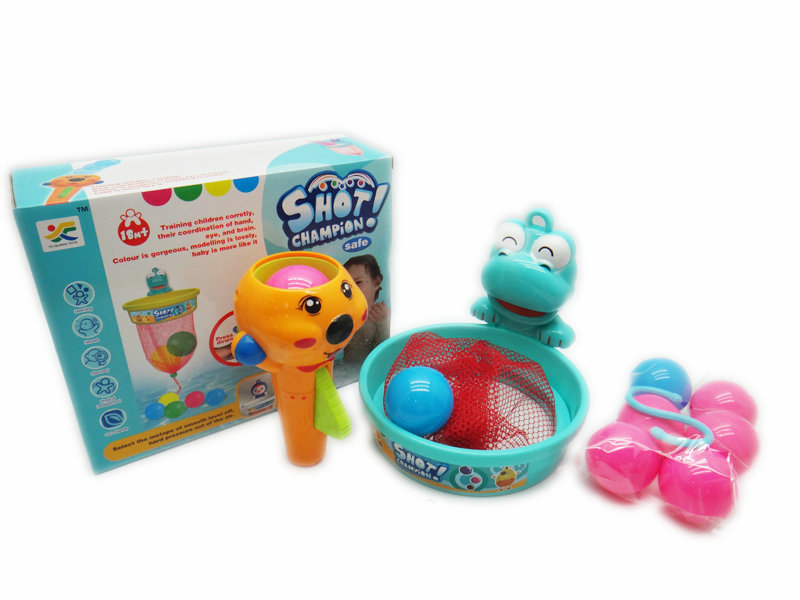 shoot off ball toy bath toy funny ball toy