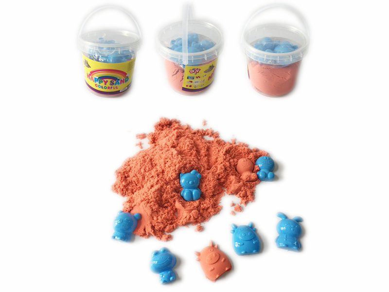 space sand toy magic sand DIY toy for kids