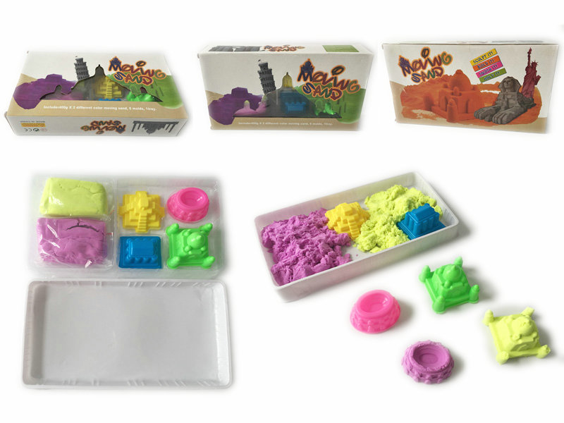 Magic sand space sand toy DIY toy for kids