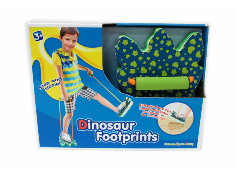Dinosaur footprints toy funny toy dinosaur shoes toy