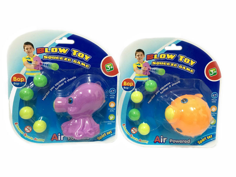 Shooting toy animal shooting toy squeeze game