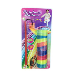 Rainbow ribbon toy ribbon funny toy for kids