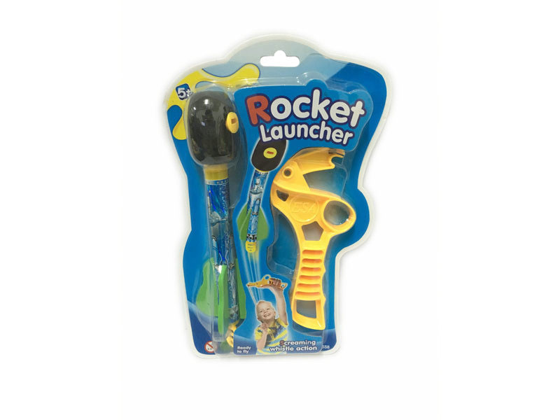 Rocket launcher toy sport toy rocket toy