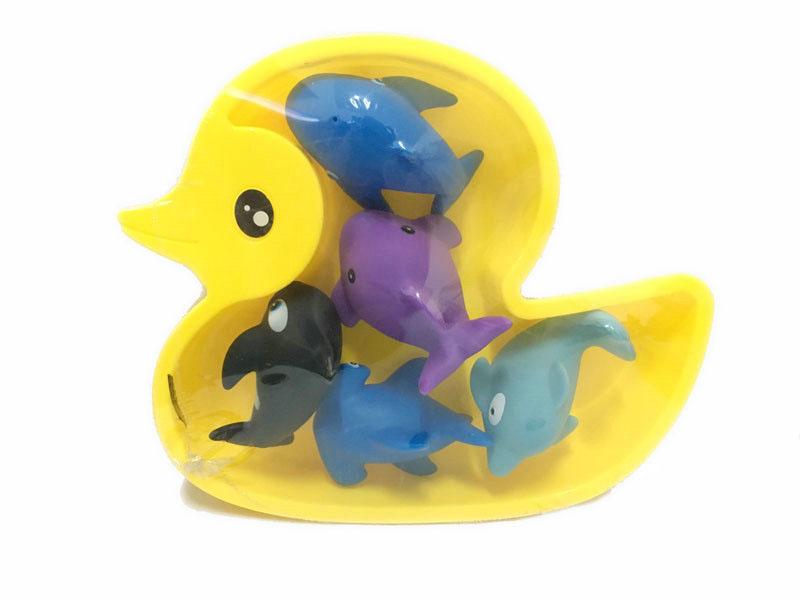 Bath toys funny toy 5pcs shark bath toy