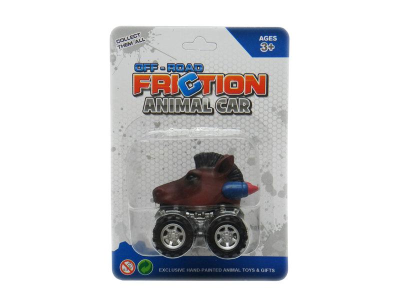 Friction/Pull Back animal car arabian horse toy car animal empire