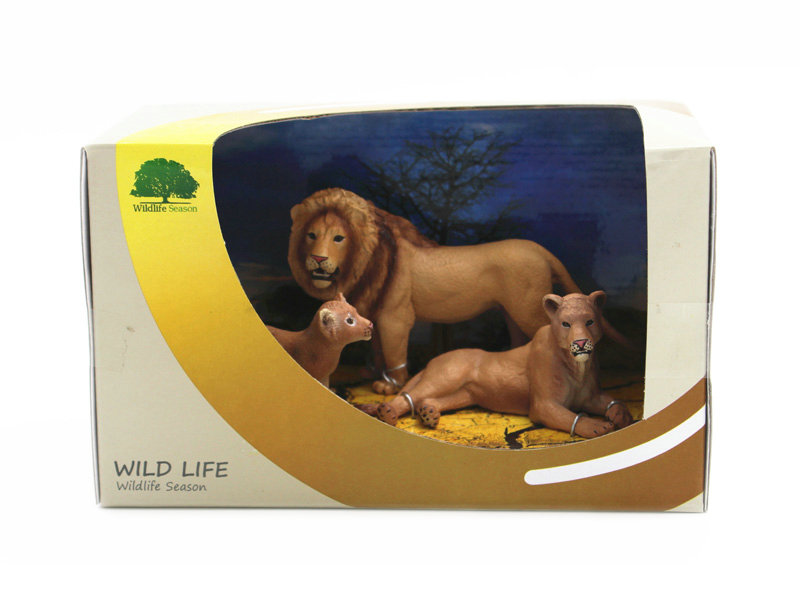 PVC lion toy wild lion toy animal toy