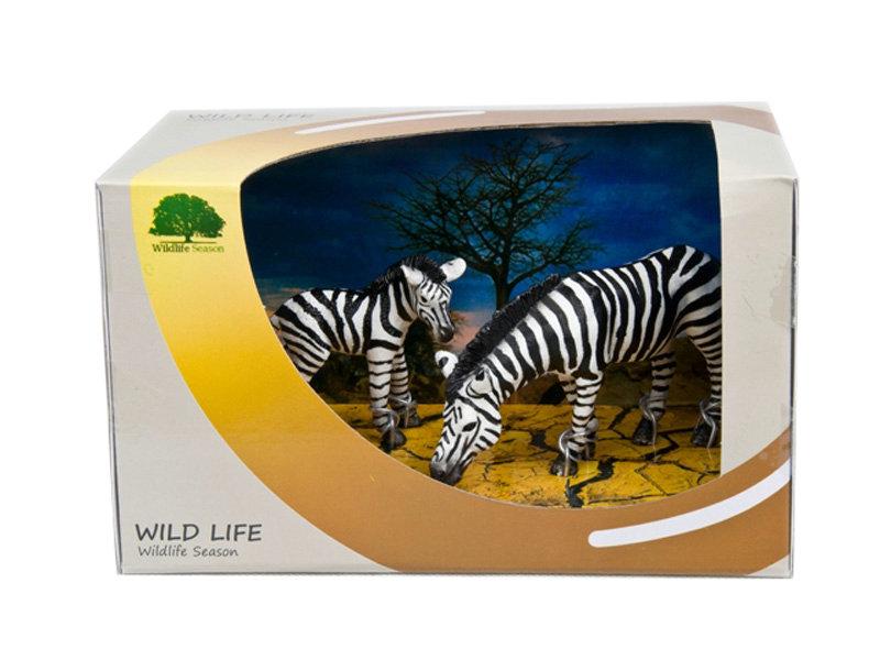 PVC zebra toy wild animal toy 3pcs wild zebra toy